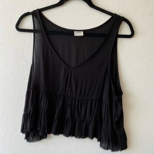Free people Intimately Oversized Crop Tank Top